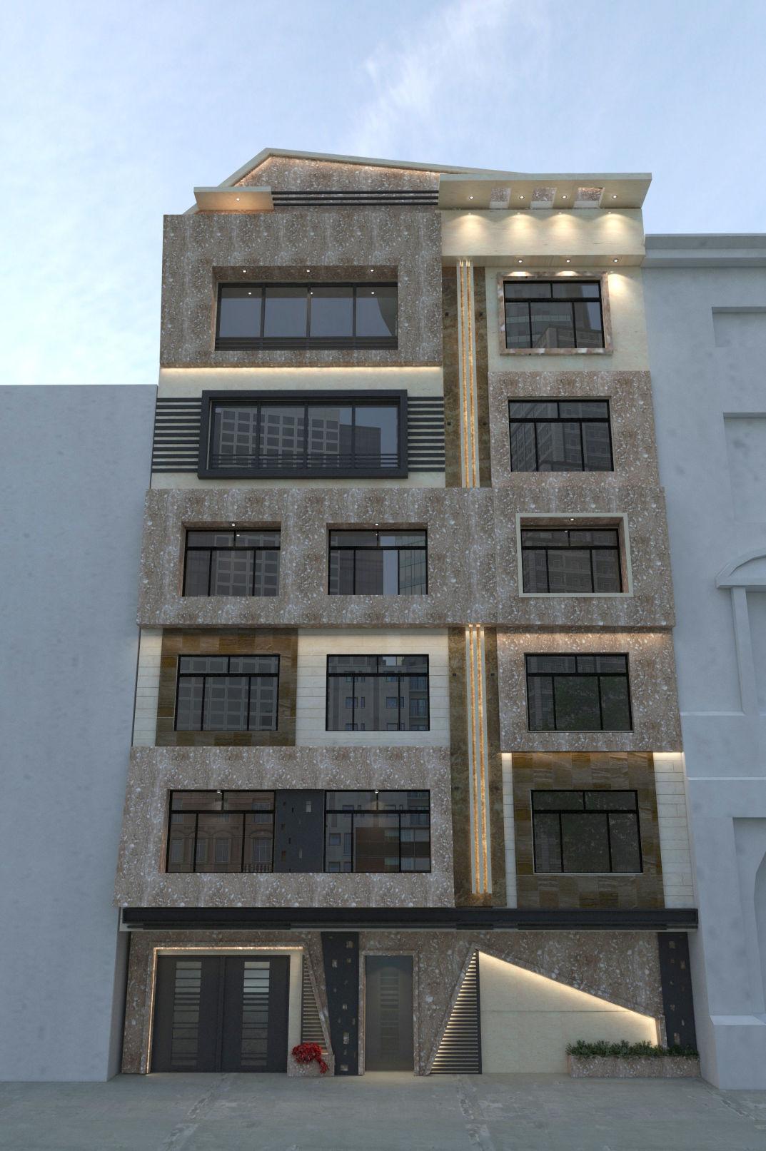 نمای ساختمان مشهد