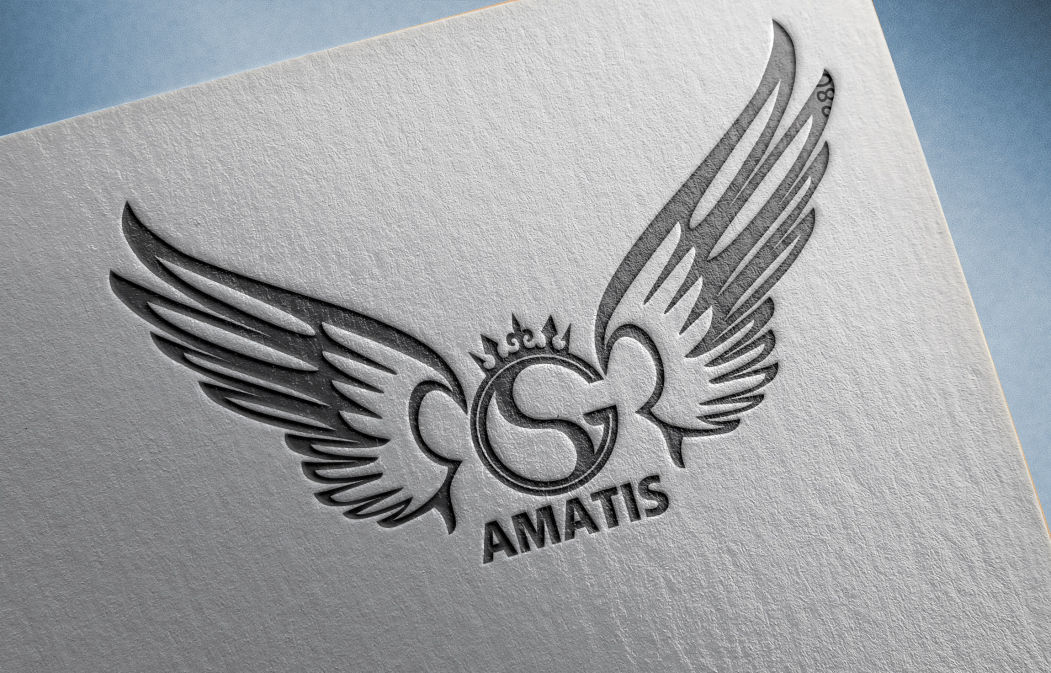 طراحی لوگو آماتیس