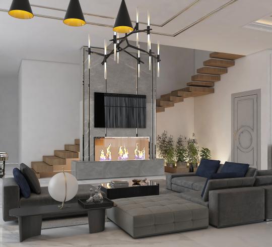 طراحی دکوراسیون داخلی خانم محمد زاده