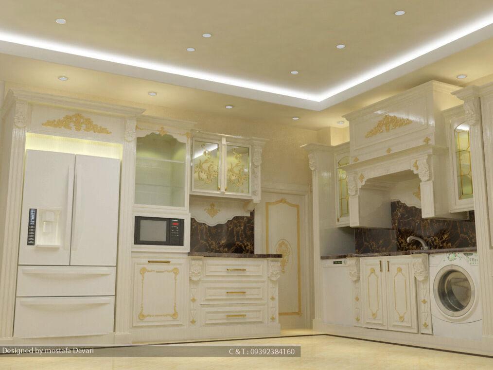 آشپزخانه کلاسیک اصفهان