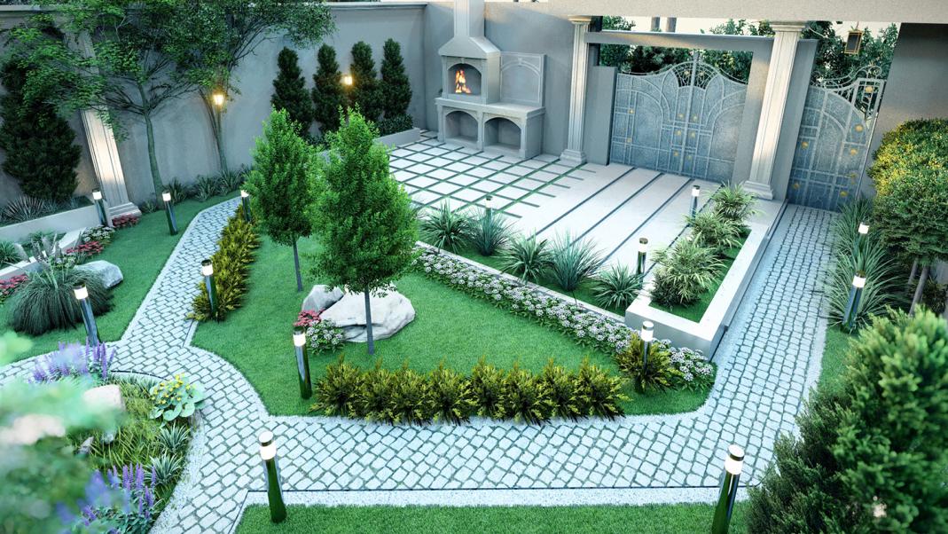 طراحی ویلا مشهد دولت آباد