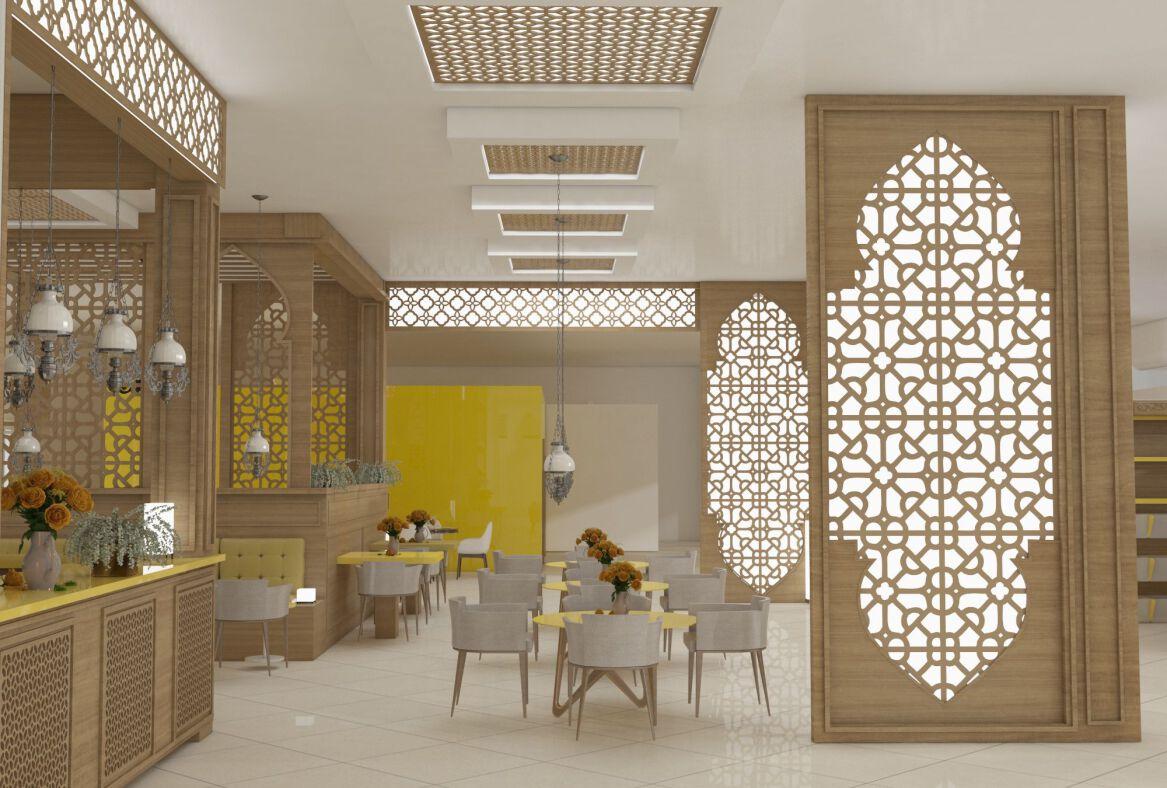 کافه رستوران سبک مراکشی مشهد