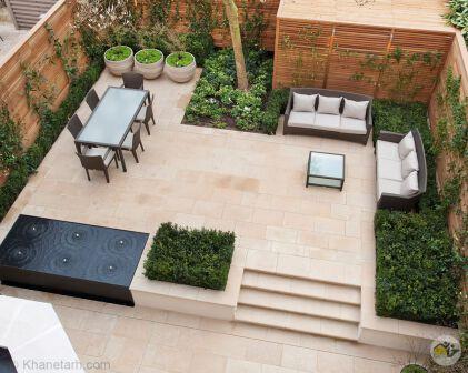 طراحی ویلا و فضای سبز