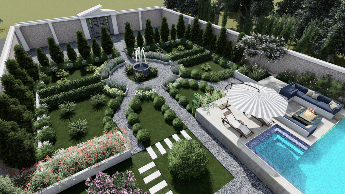 طراحی ویلای جناب ساجدی مشهد